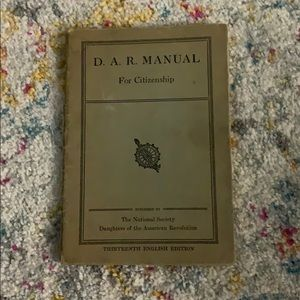 D.A.R Manual For Citizenship